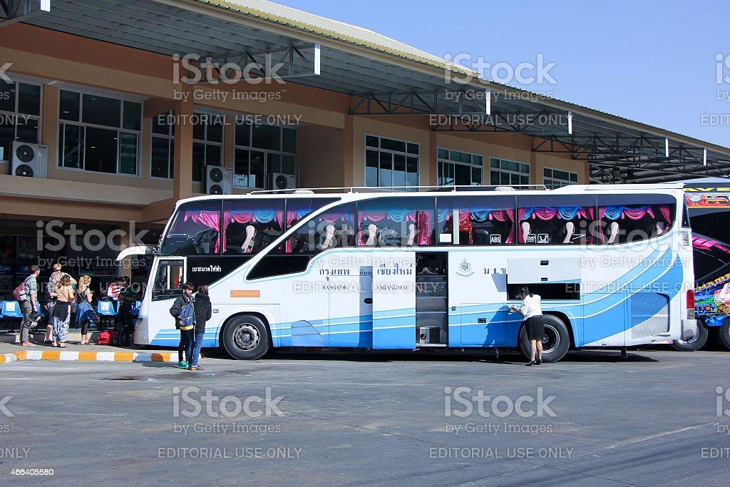 Bus of Chokrung Thawee stock photo