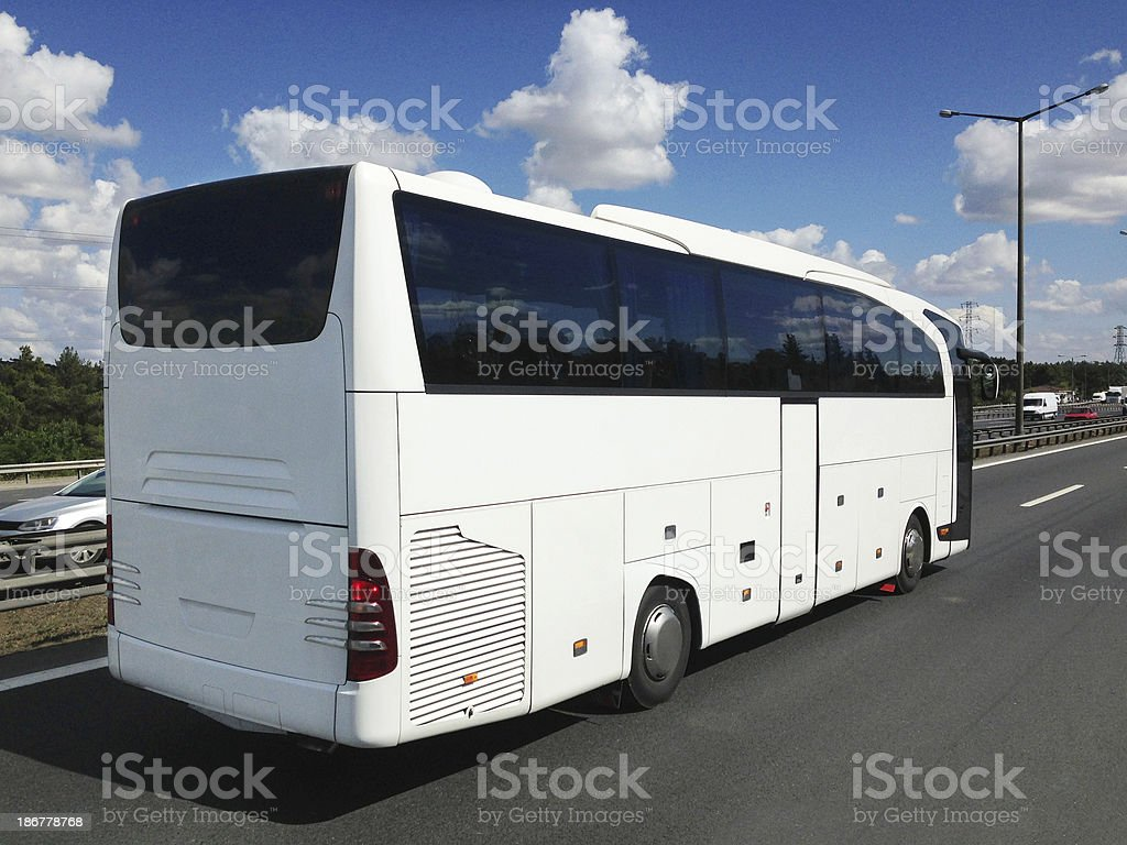 Bus (Click for more) royalty-free stock photo