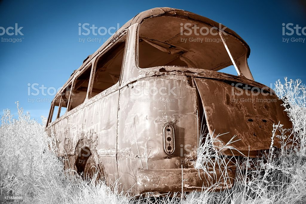 Bus royalty-free stock photo