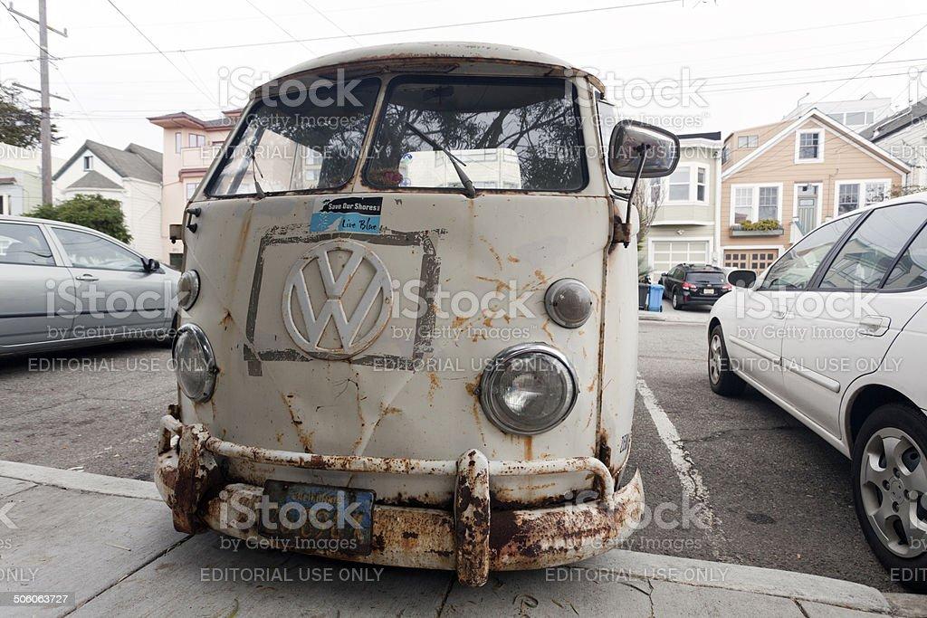 VW Bus stock photo