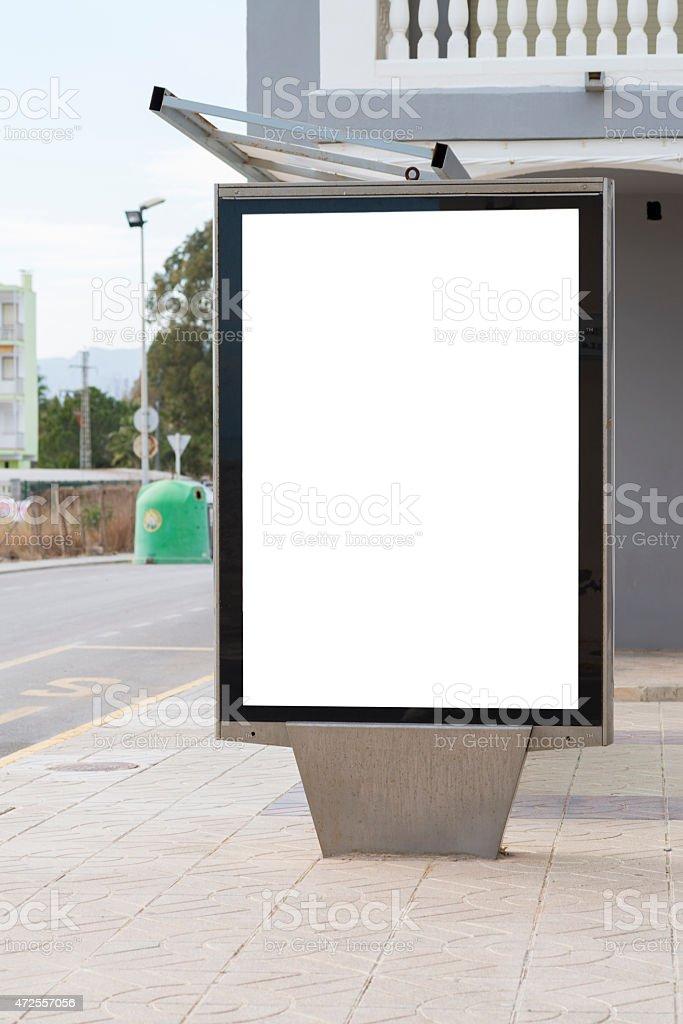 Bus station. stock photo