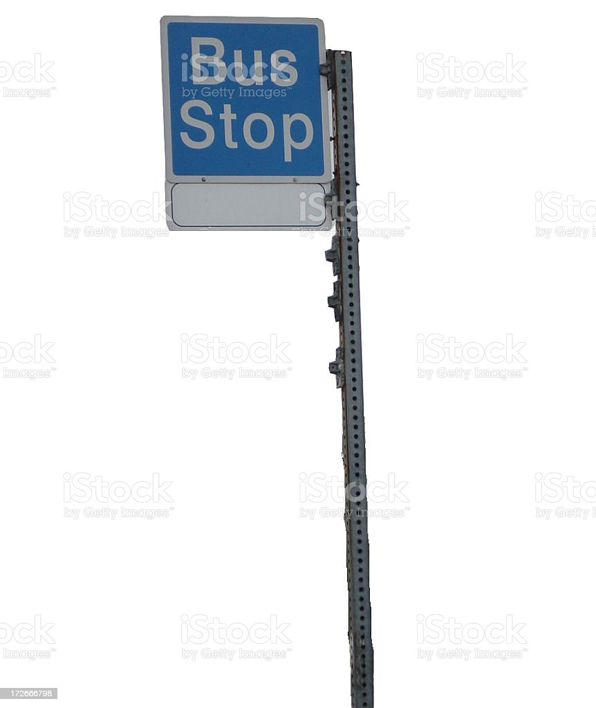 Bus Stop royalty-free stock photo