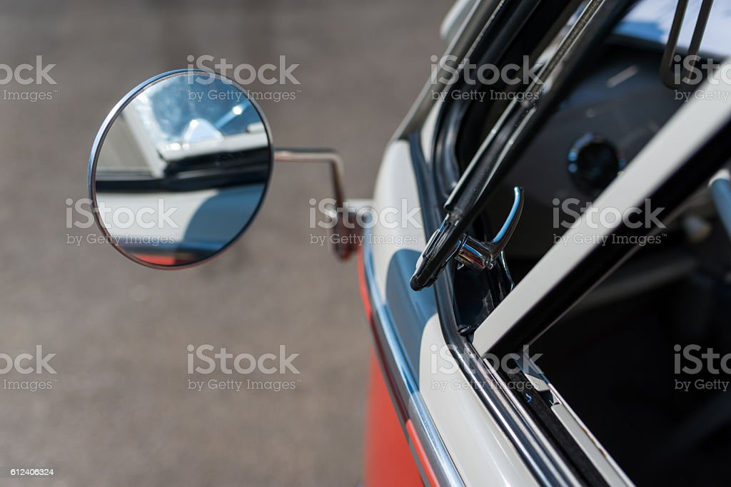 Bus T1 Car Detail stock photo