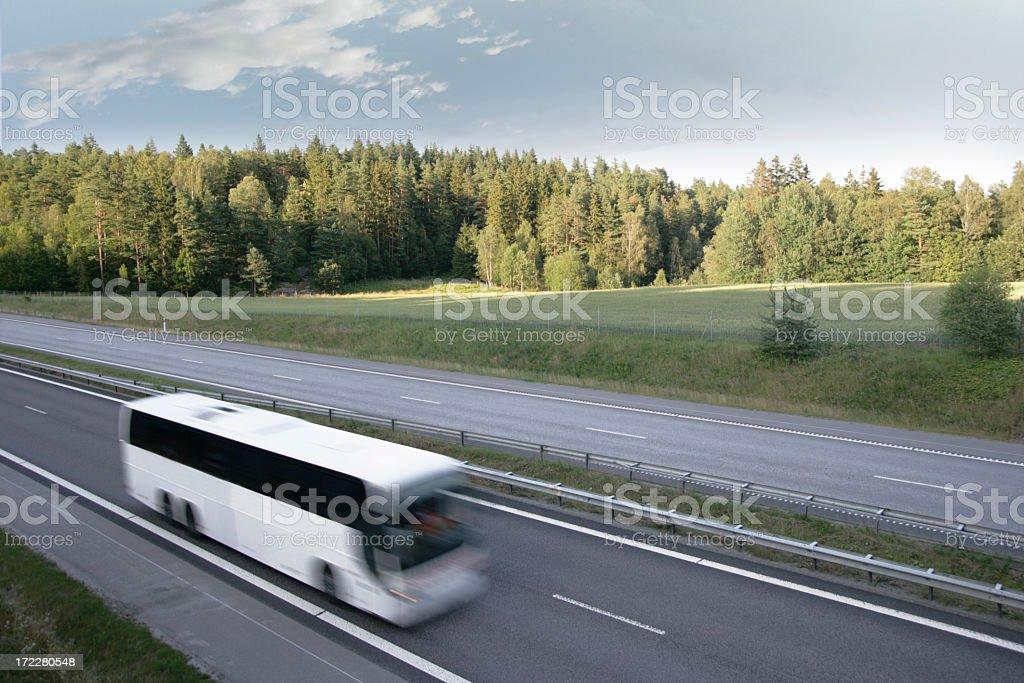 Bus Transportation stock photo