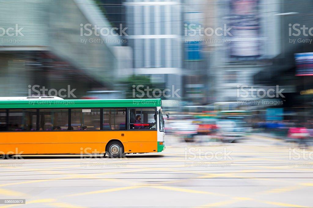 Bus travel stock photo