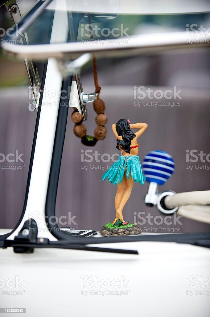 VW Bus Window stock photo