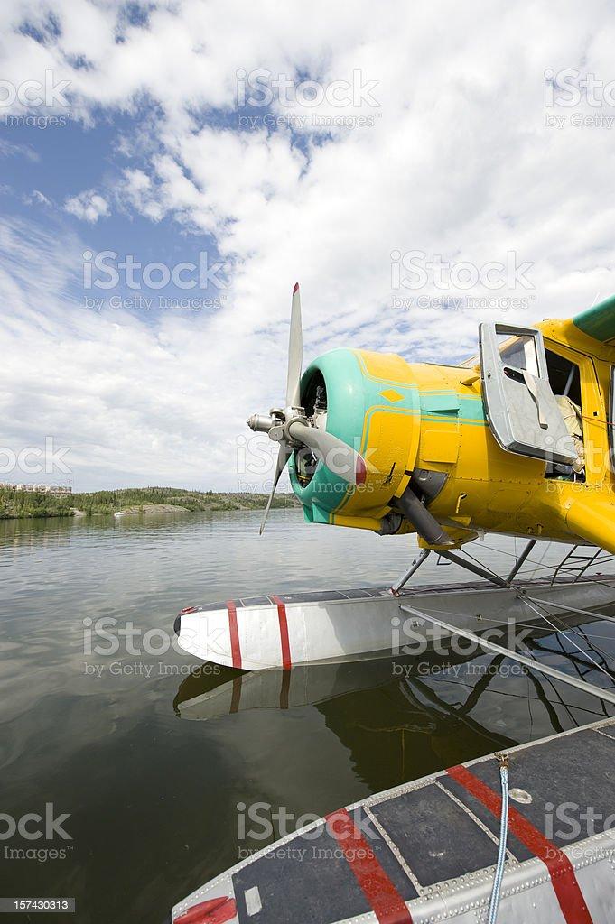 Bush Plane or Seaplane, Yellowknife. royalty-free stock photo