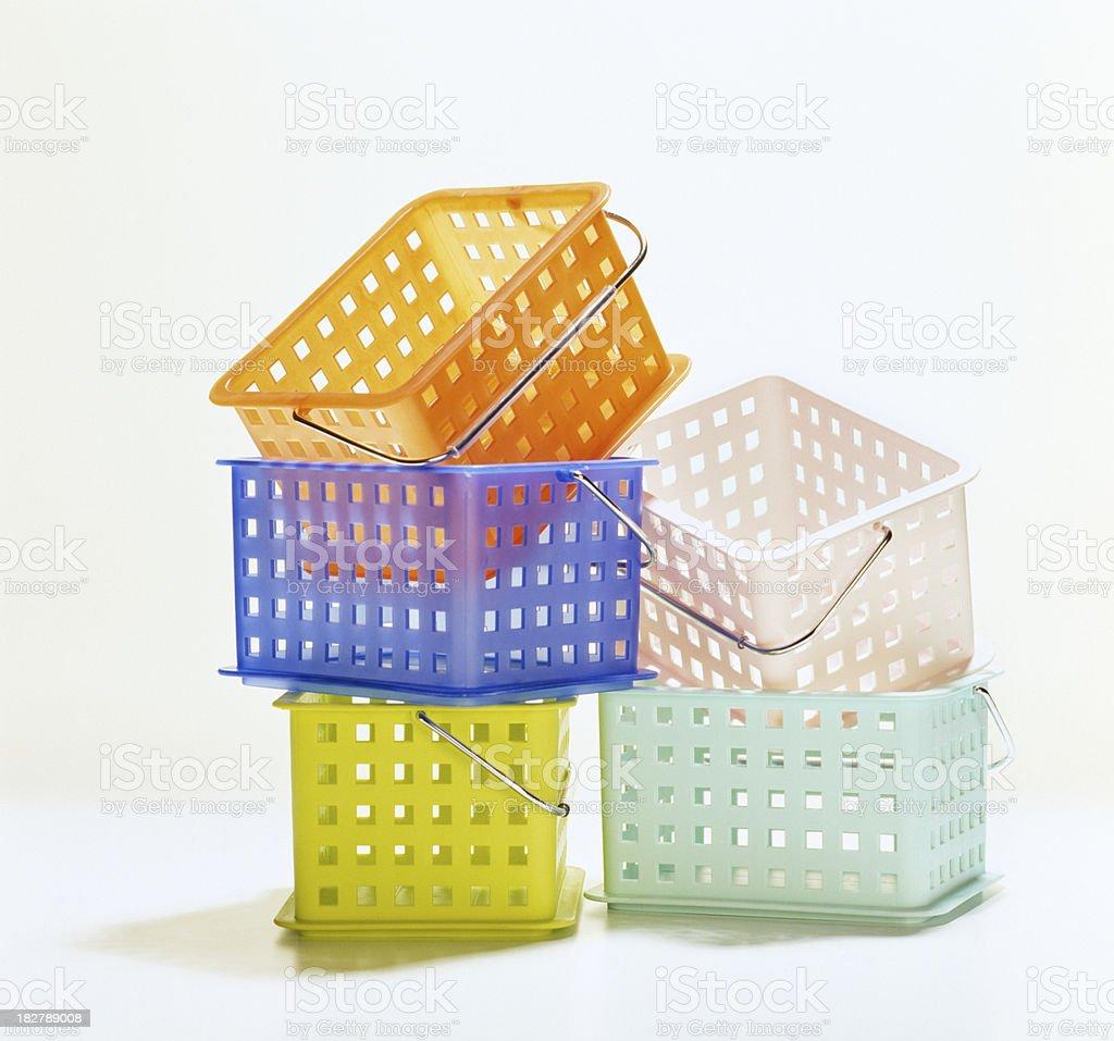 Bushel Baskets stock photo