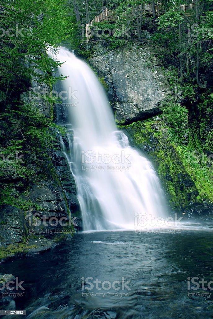 Bushkill falls stock photo