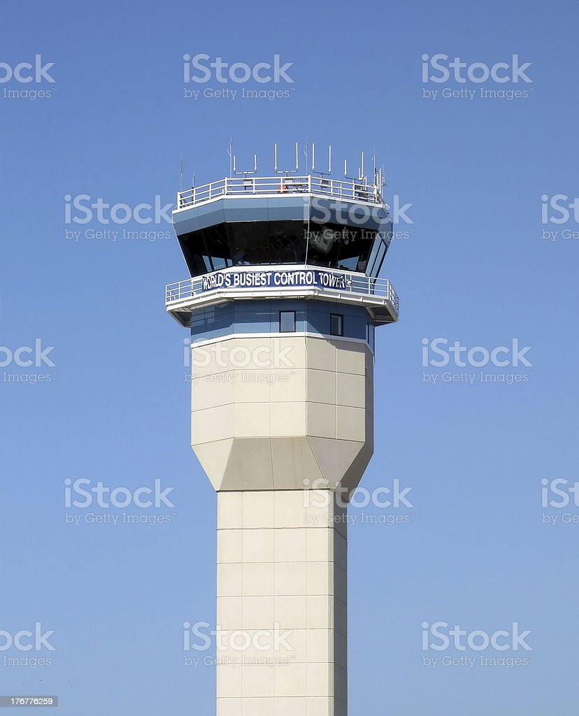 Busiest Control Tower stock photo