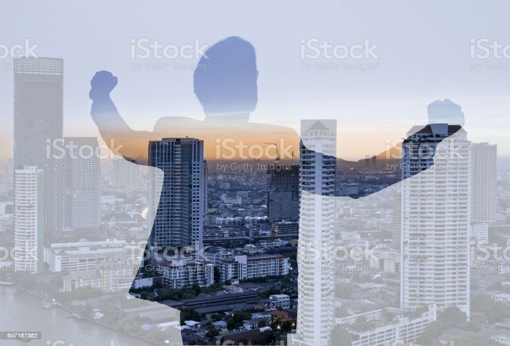 Business abstract. stock photo
