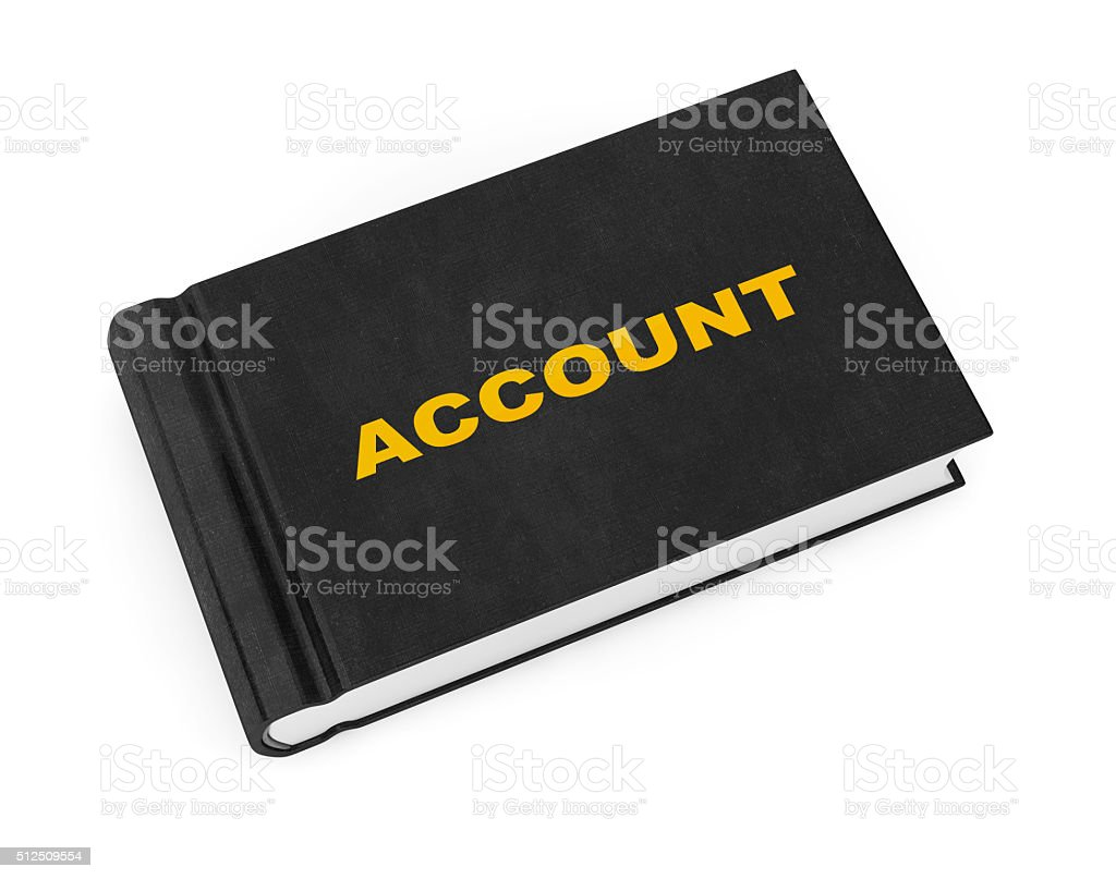 Business Account Book stock photo