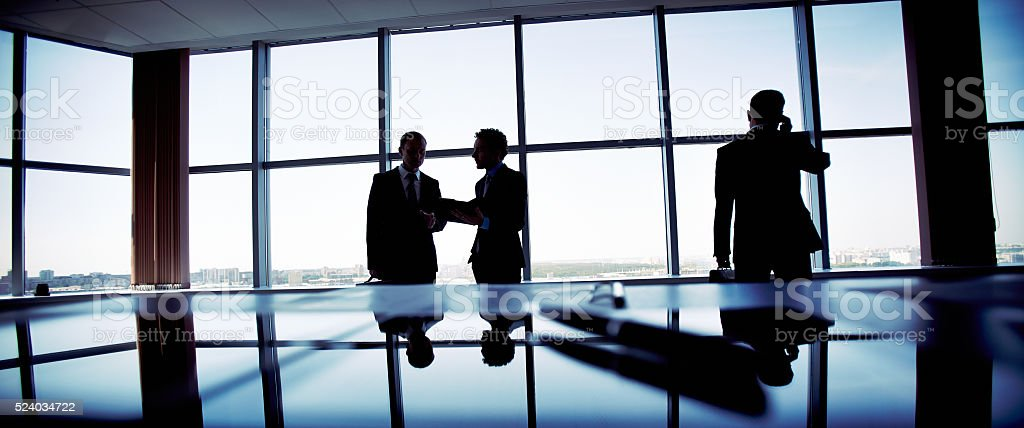 Business activity stock photo