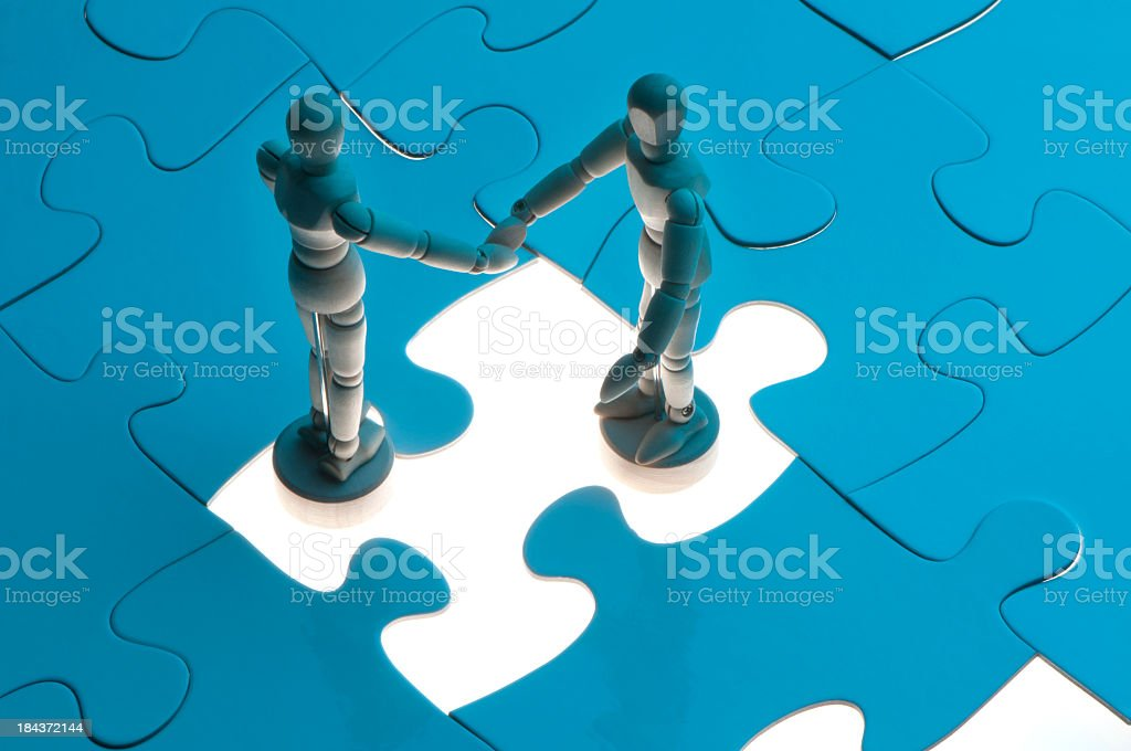Business agreement concept royalty-free stock photo