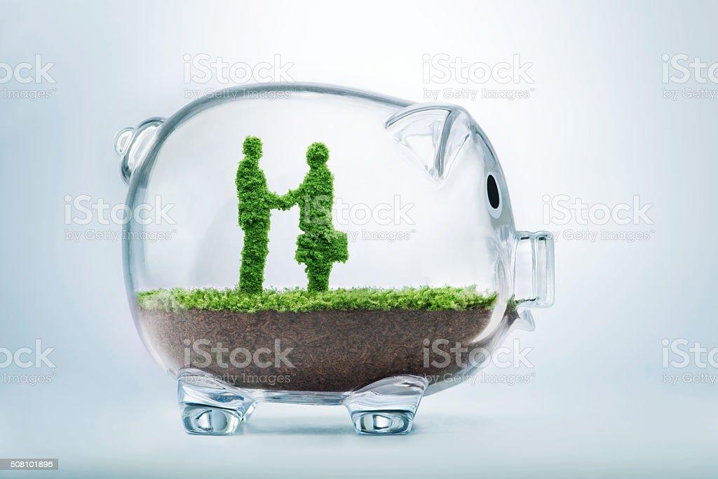 Business agreement concept stock photo