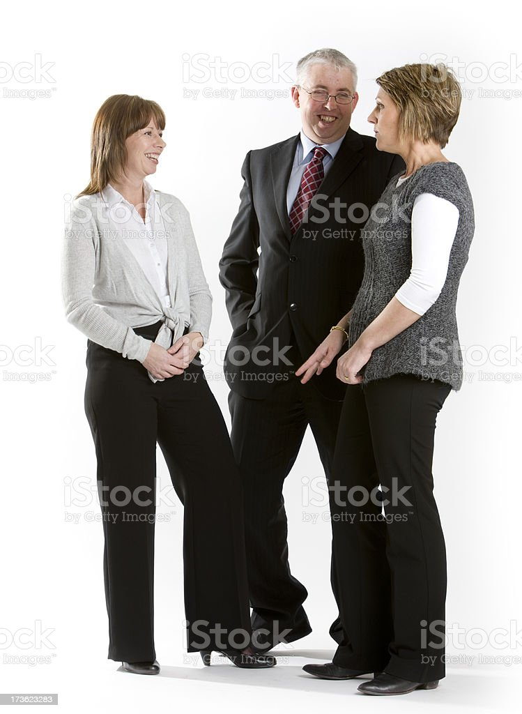 business agreement royalty-free stock photo