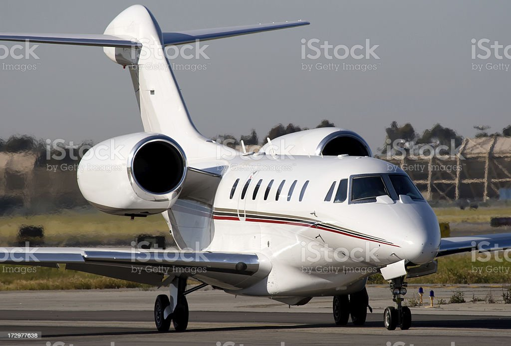 Business Aircraft stock photo