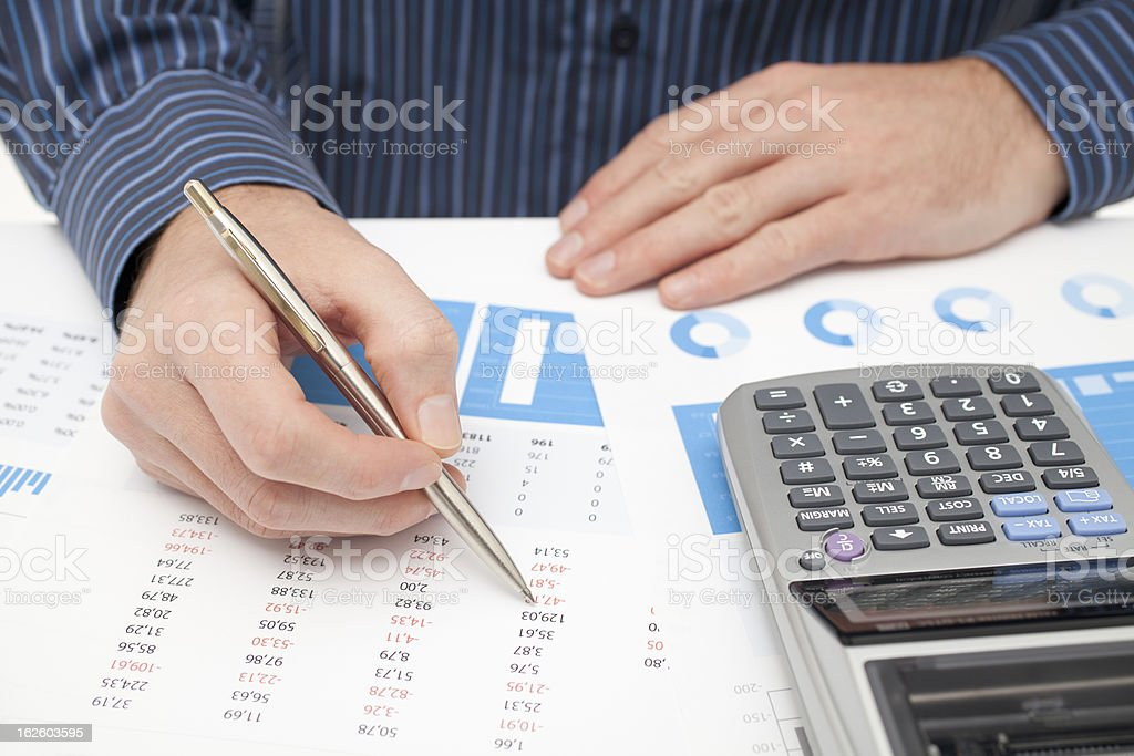 Business analysis royalty-free stock photo