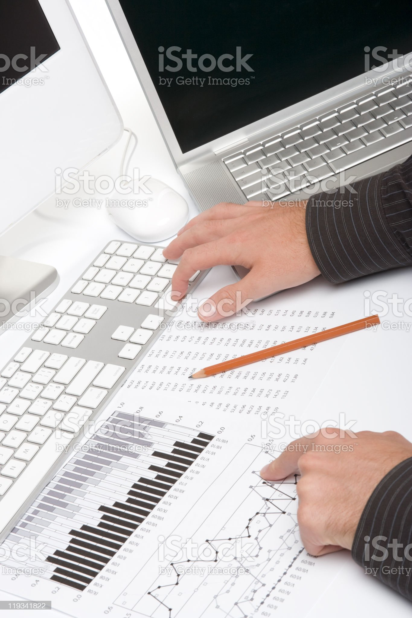 Business analyst royalty-free stock photo