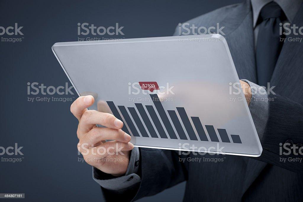 Business analyze stock photo