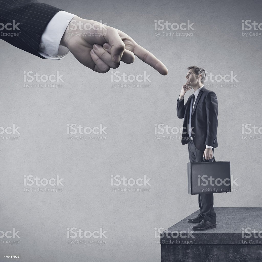 Business and authority royalty-free stock photo