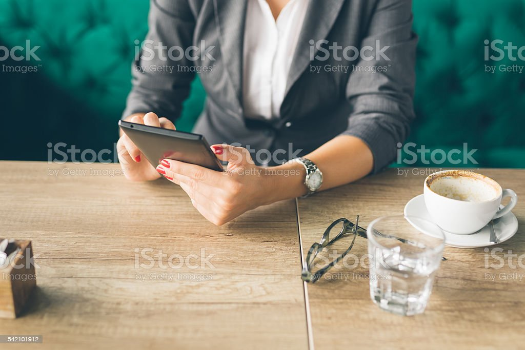 business and connection stock photo