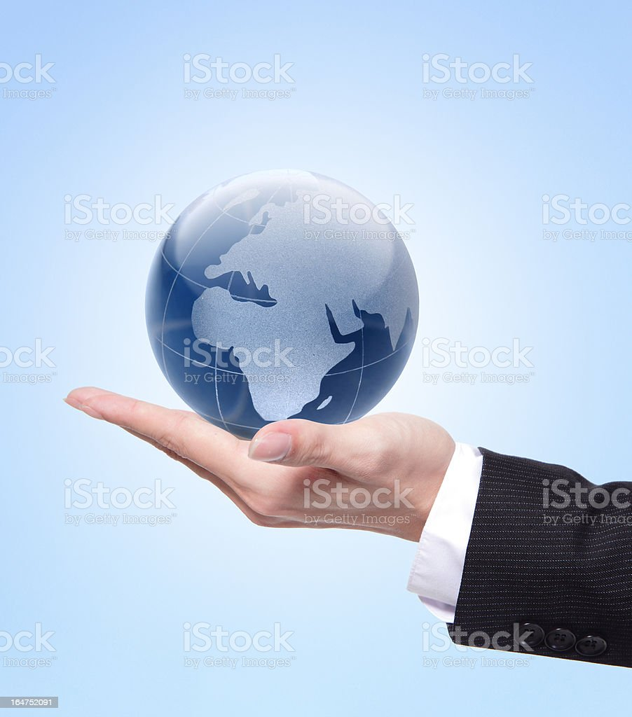 business and eco concept royalty-free stock photo