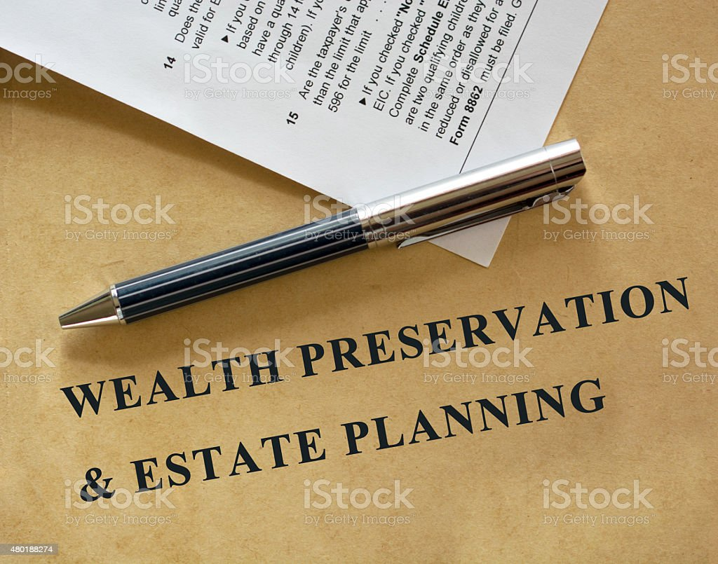 Business and finance series stock photo