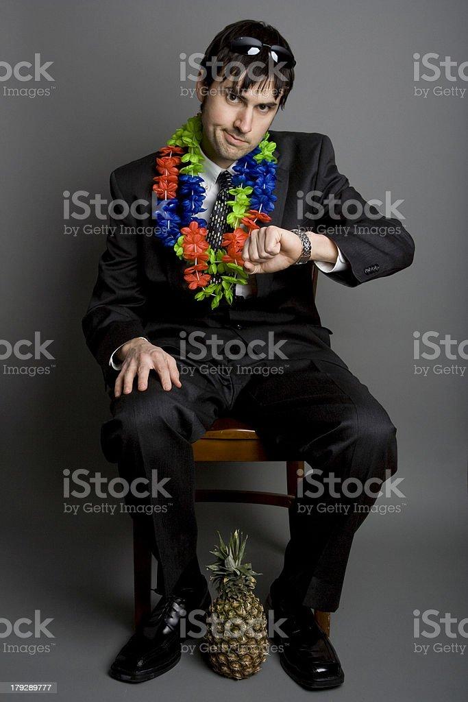 Business and Pleasure stock photo