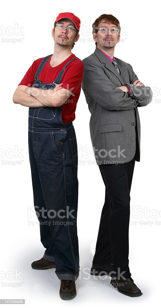business and repairman royalty-free stock photo