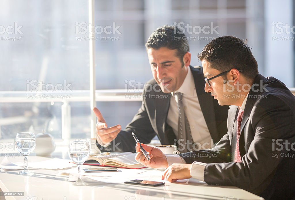 Business and teamwork stock photo