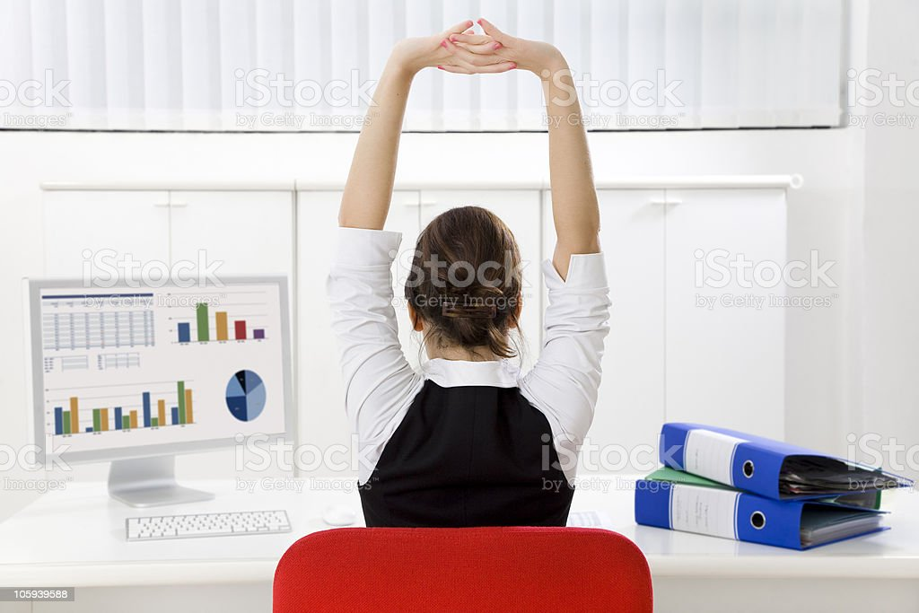 business and work stock photo