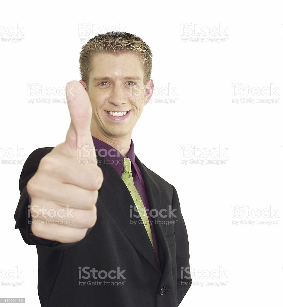 Business Approval 1 royalty-free stock photo