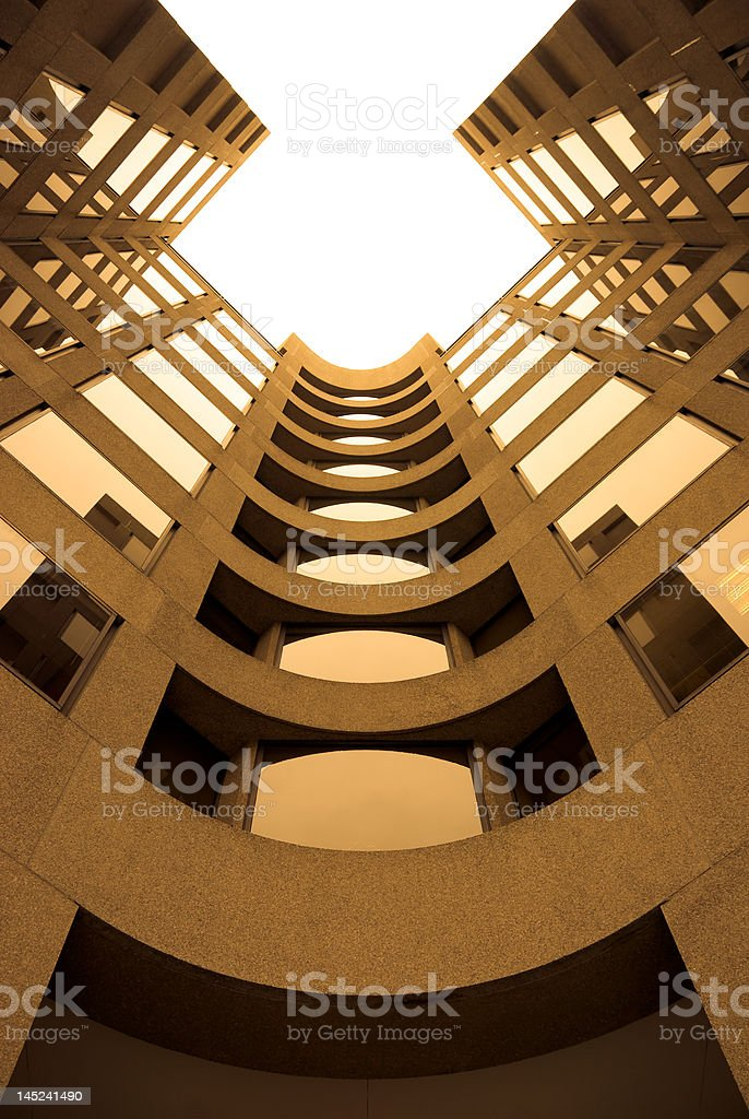 Business Architecture and Reflections royalty-free stock photo