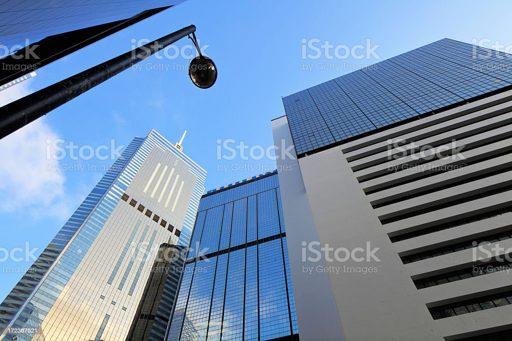 business architecture building royalty-free stock photo