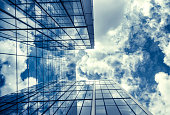Business Architecture Sky Reflection