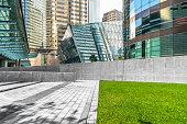 business area of Hong Kong