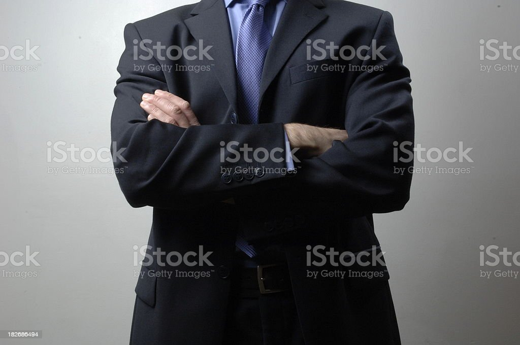 Business Arms Folded royalty-free stock photo