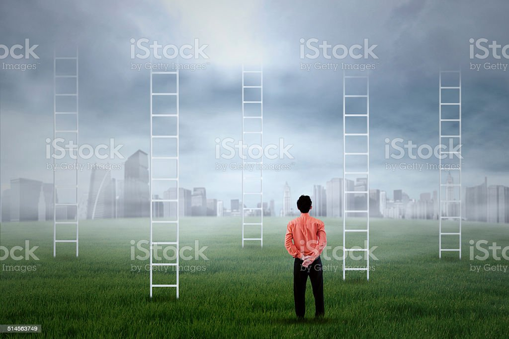 Business aspiration stock photo