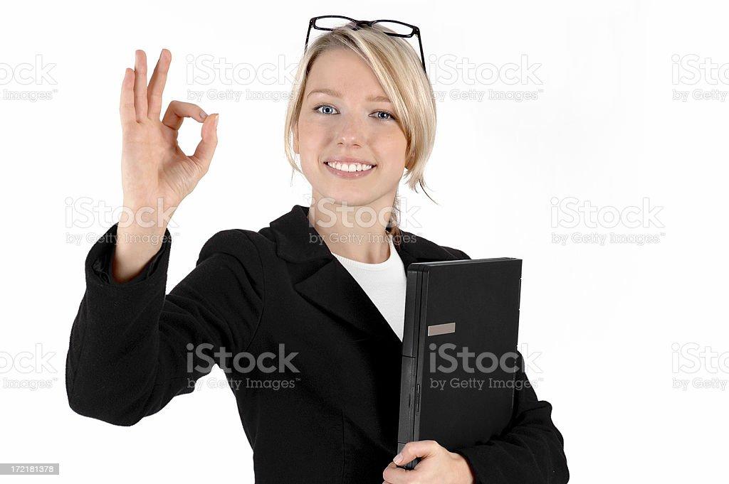 Business attitude (1) royalty-free stock photo