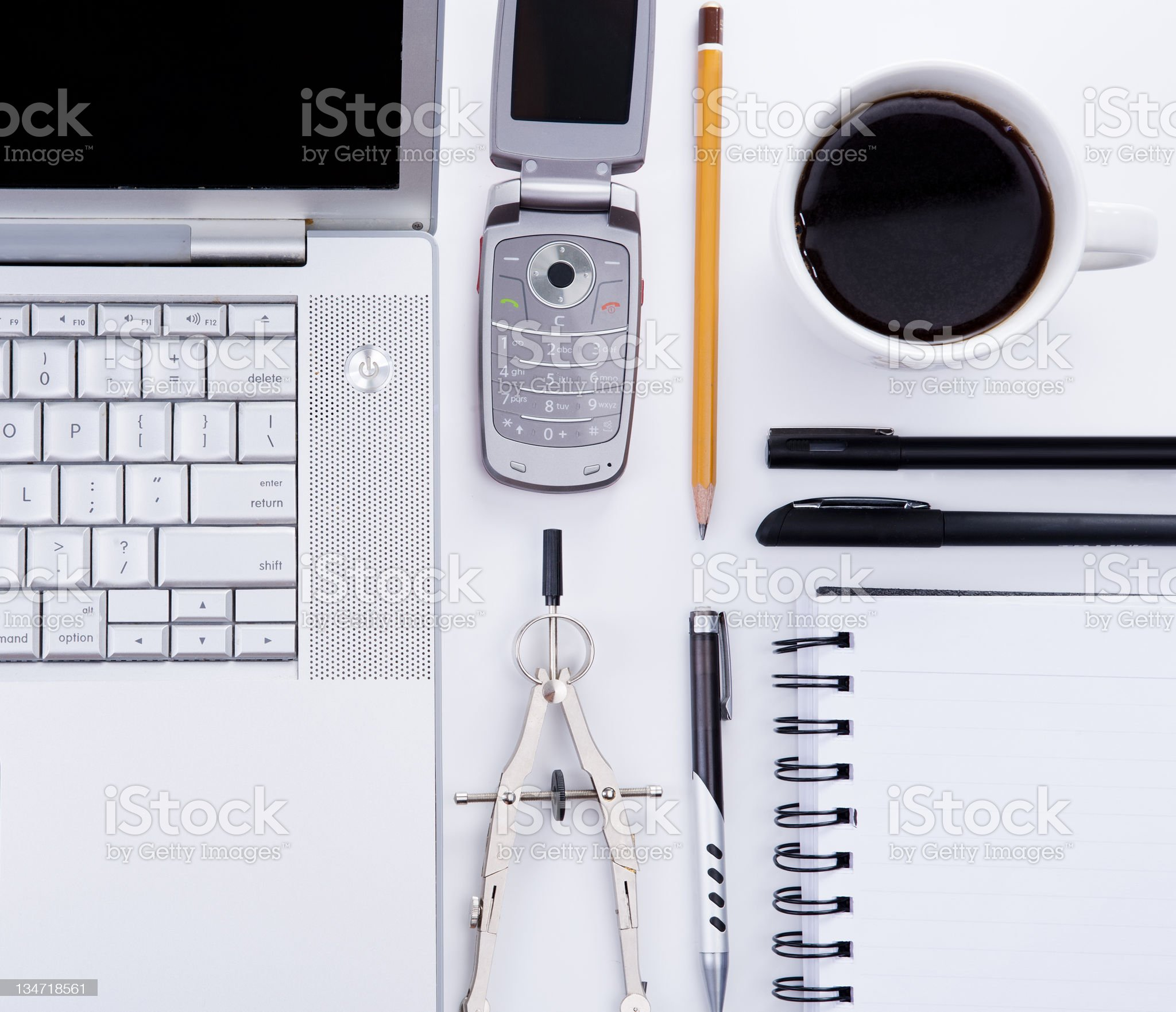 Business attributes royalty-free stock photo