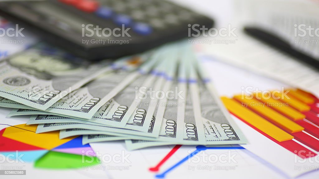 business background - concept of success stock photo