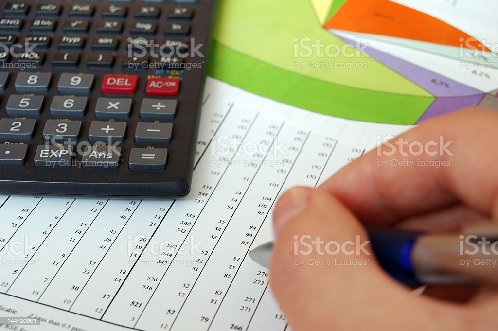 Business background royalty-free stock photo