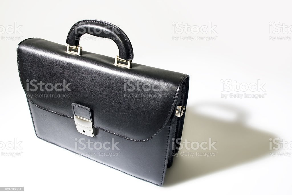 Business bag royalty-free stock photo