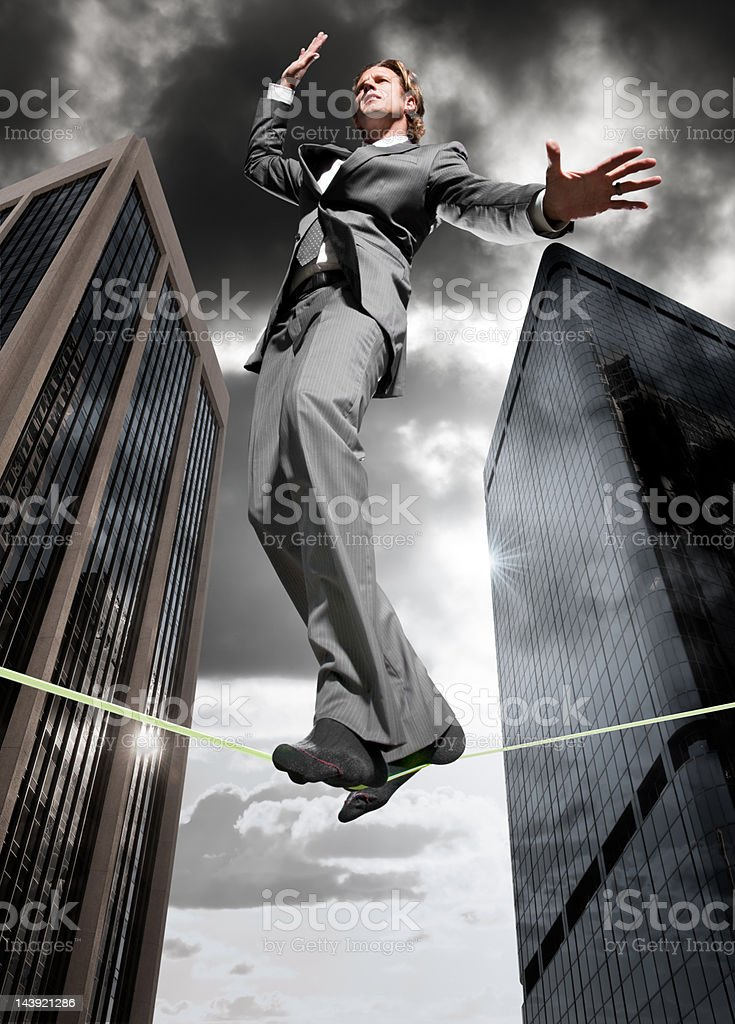 Business Balance stock photo