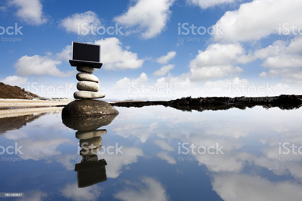 Business balance royalty-free stock photo