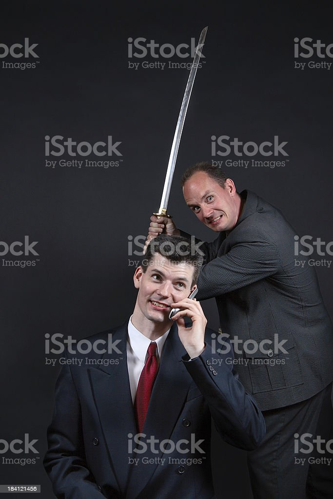 Business Betrayal royalty-free stock photo
