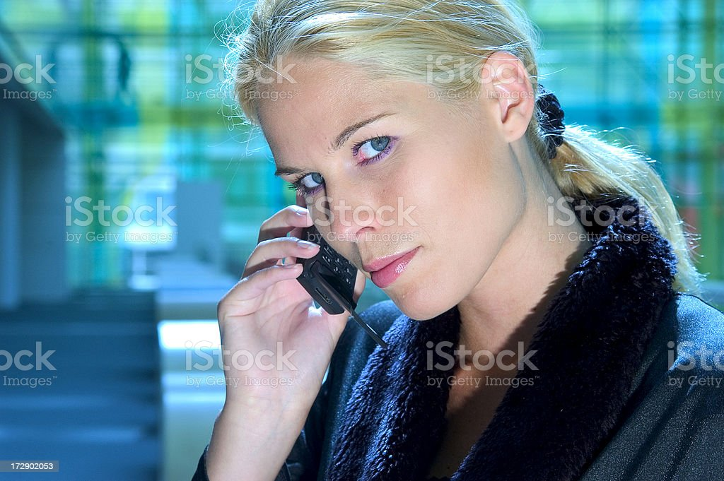 business blond is beautiful royalty-free stock photo