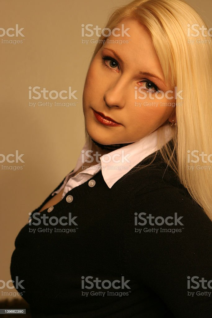 Business Blonde 5 royalty-free stock photo