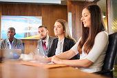 business boardroom meeting